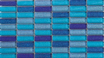 Mozaika Crystal Blue sky_30x30