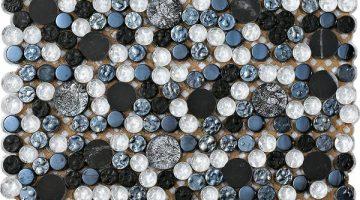 Mozaika Planet Silver_30x30
