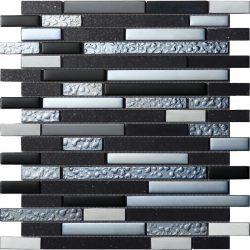 Mozaika Quartz Black_30x30