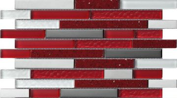 Mozaika Quartz Red_30x30