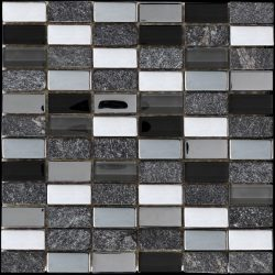 Mozaika Myka Black_30x30