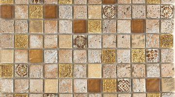 Mozaika Imperium Gold_30x30
