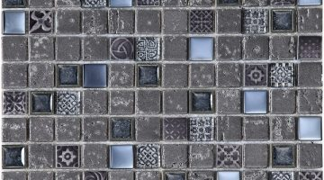 Mozaika Imperium Graphite_30x30