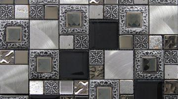 Mozaika Frame Silver_30x30