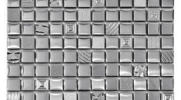 Mozaika Kroma Silver_30x30