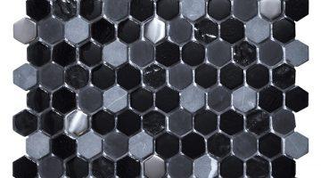 Mozaika Living Black_30x30