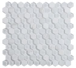 Mozaika  Living White_30x30