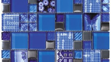 Mozaika Carnaval Blue_30x30