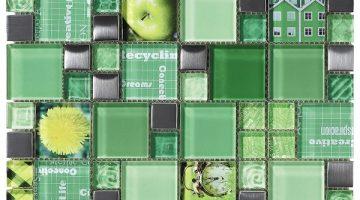 Mozaika Carnaval Green_30x30