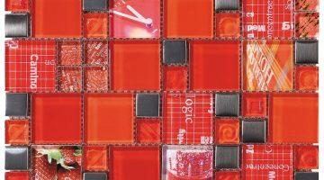 Mozaika Carnaval Red_30x30