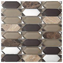 Mozaika Vintage Brown_30x30