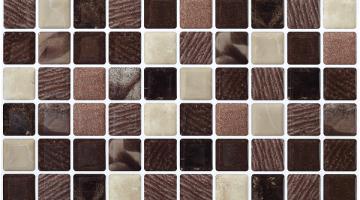 Mozaika Cosmos Marron_30x30