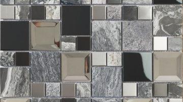 Mozaika Kaos Grey_30x30