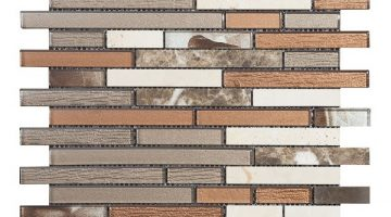 Mozaika Brick Brown_30x30