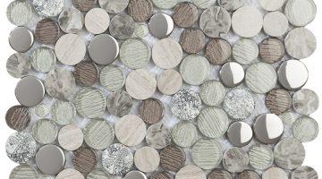 Mozaika Planet Grey_30x30