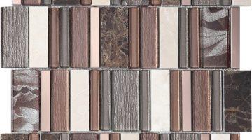Mozaika Stripes Cinamon_30x30