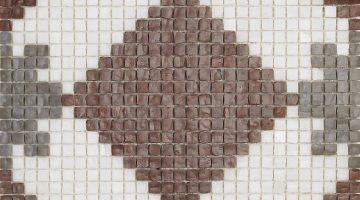 Mozaika Alhambra Marron_32x32