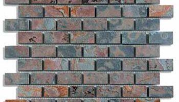Mozaika natūralaus skaldyto paviršiaus