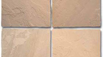 Natūralaus skaldyto paviršiaus smėlio spalvos indiškas smiltainis