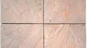 Šepečiu nupoliruoto paviršiaus smėlio spalvos indiškas smiltainis