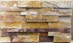 Laisvų gamtinių formų skaldytas akmuo gneisas Dekor. panelė A4P