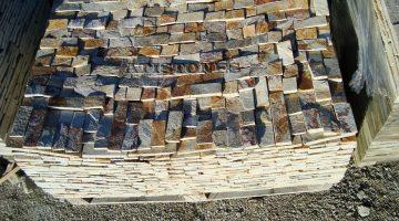 Laisvų gamtinių formų skaldytas akmuo gneisas ASH3 5 cm x FL