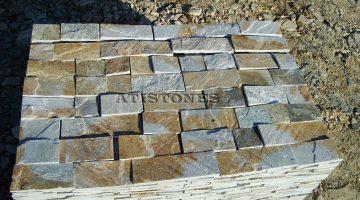 Laisvų gamtinių formų skaldytas akmuo gneisas BGK10 10 cm x FL