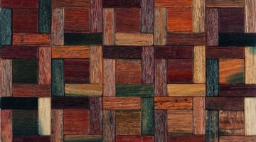 BORDER WOOD 30X30-	M376