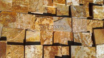 Laisvų gamtinių formų skaldytas akmuo gneisas CD3 10 cm x FL