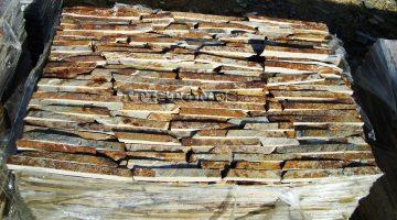 Laisvų gamtinių formų skaldytas akmuo gneisas CD3N 3 cm x FL