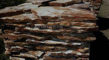 Laisvų gamtinių formų skaldytas akmuo gneisas CD5