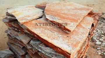Laisvų gamtinių formų skaldytas akmuo gneisas CJ5