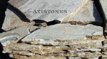 Laisvų gamtinių formų skaldytas akmuo gneisas CS1