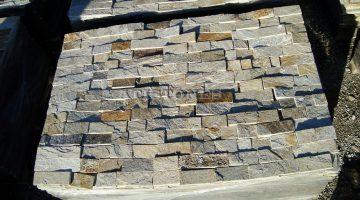 Laisvų gamtinių formų skaldytas akmuo gneisas CS3 5 cm x FL