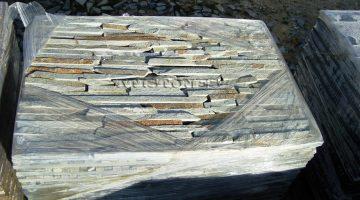 Laisvų gamtinių formų skaldytas akmuo gneisas CS3N 5 cm x FL