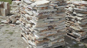 Laisvų gamtinių formų skaldytas akmuo gneisas CS5