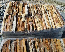 Laisvų gamtinių formų skaldytas akmuo gneisas CVB