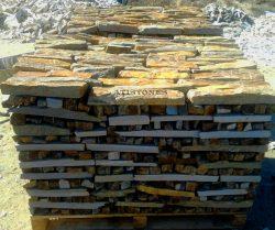 Laisvų gamtinių formų skaldytas akmuo gneisas CVST