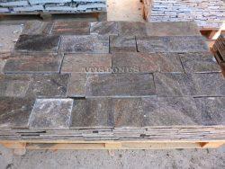 Laisvų gamtinių formų skaldytas akmuo gneisas D3 15 cm x FL