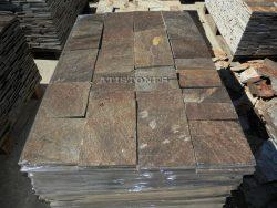 Laisvų gamtinių formų skaldytas akmuo gneisas D3 20 cm x FL