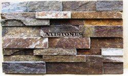 Laisvų gamtinių formų skaldytas akmuo gneisas Dekor. panelė D4P