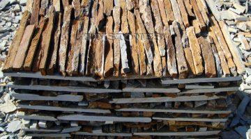 Laisvų gamtinių formų skaldytas akmuo gneisas DB
