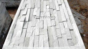 Laisvų gamtinių formų skaldytas akmuo gneisas E3 5 cm x FL