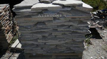 Laisvų gamtinių formų skaldytas akmuo gneisas E5