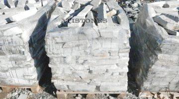 Laisvų gamtinių formų skaldytas akmuo gneisas EZ