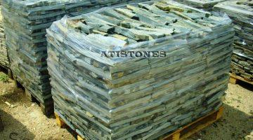 Laisvų gamtinių formų skaldytas akmuo gneisas FB
