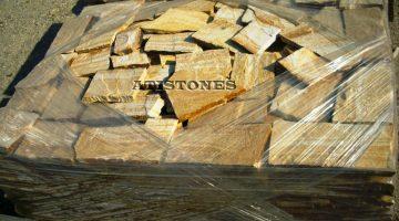Laisvų gamtinių formų skaldytas akmuo gneisas G2