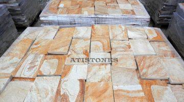 Laisvų gamtinių formų skaldytas akmuo gneisas G3 15 cm x FL