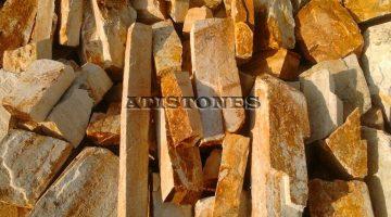 Laisvų gamtinių formų skaldytas akmuo gneisas GZ