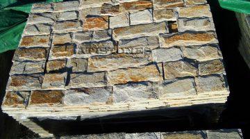 Laisvų gamtinių formų skaldytas akmuo gneisas  Glits CJ